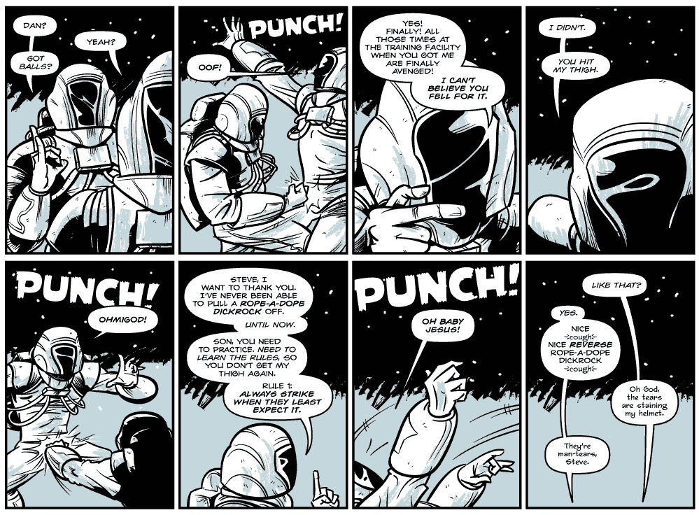 "A Tribute To Darnell ""The Ding-a-Ling Man"" Wilson: Guest Strip by Max Riffner"